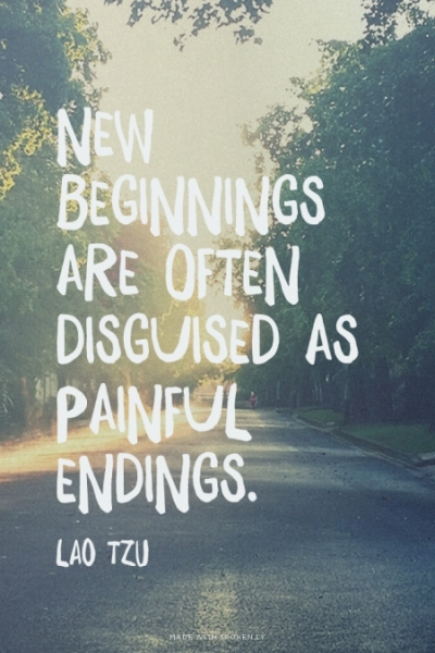 large new beginnings happiness